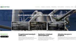 strona internetowa inwestycji, Strona internetowa inwestycji PERN
